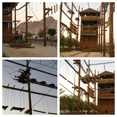 Wadi Adventure giant swing