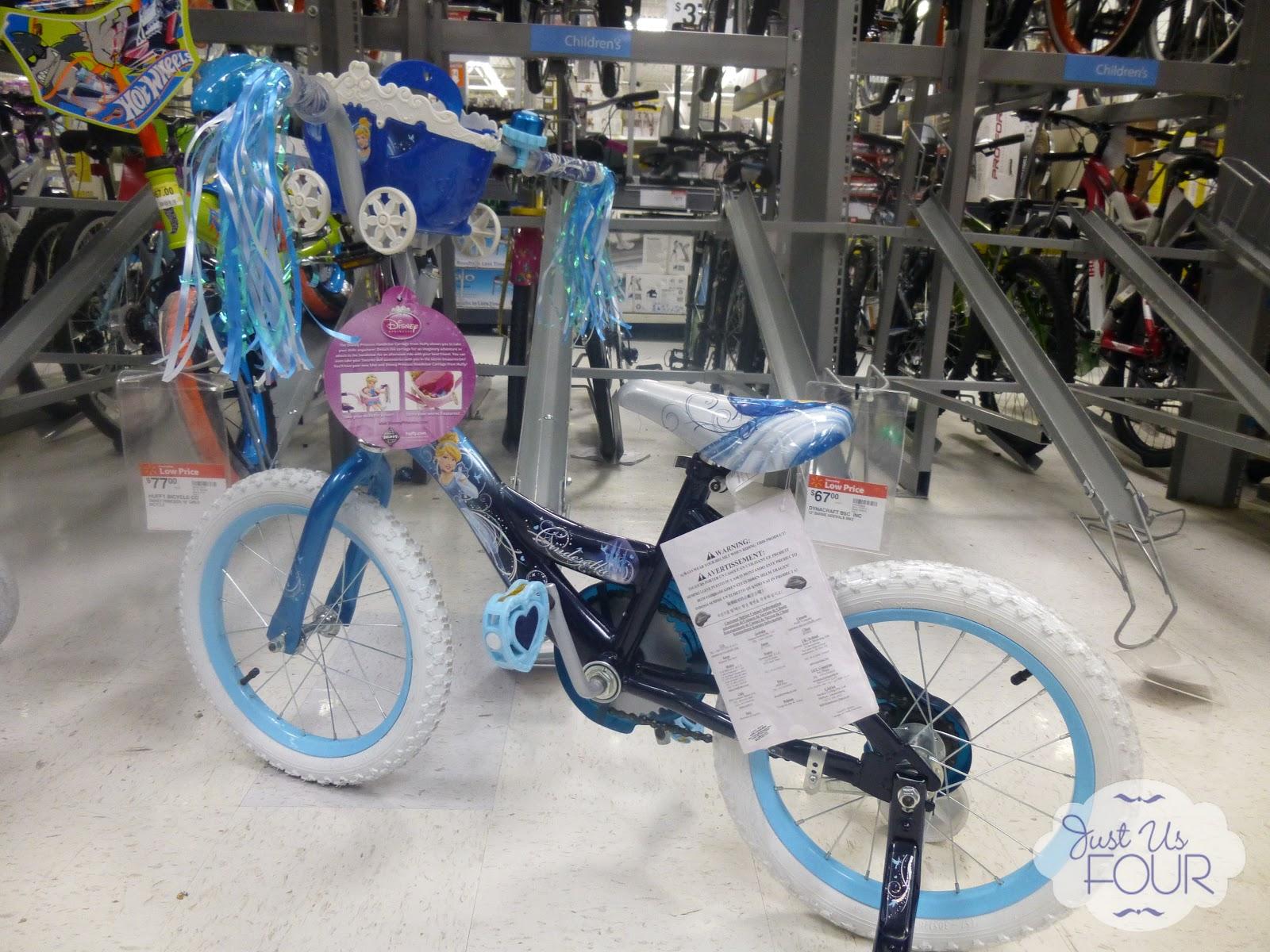 With Cinderella Bike But