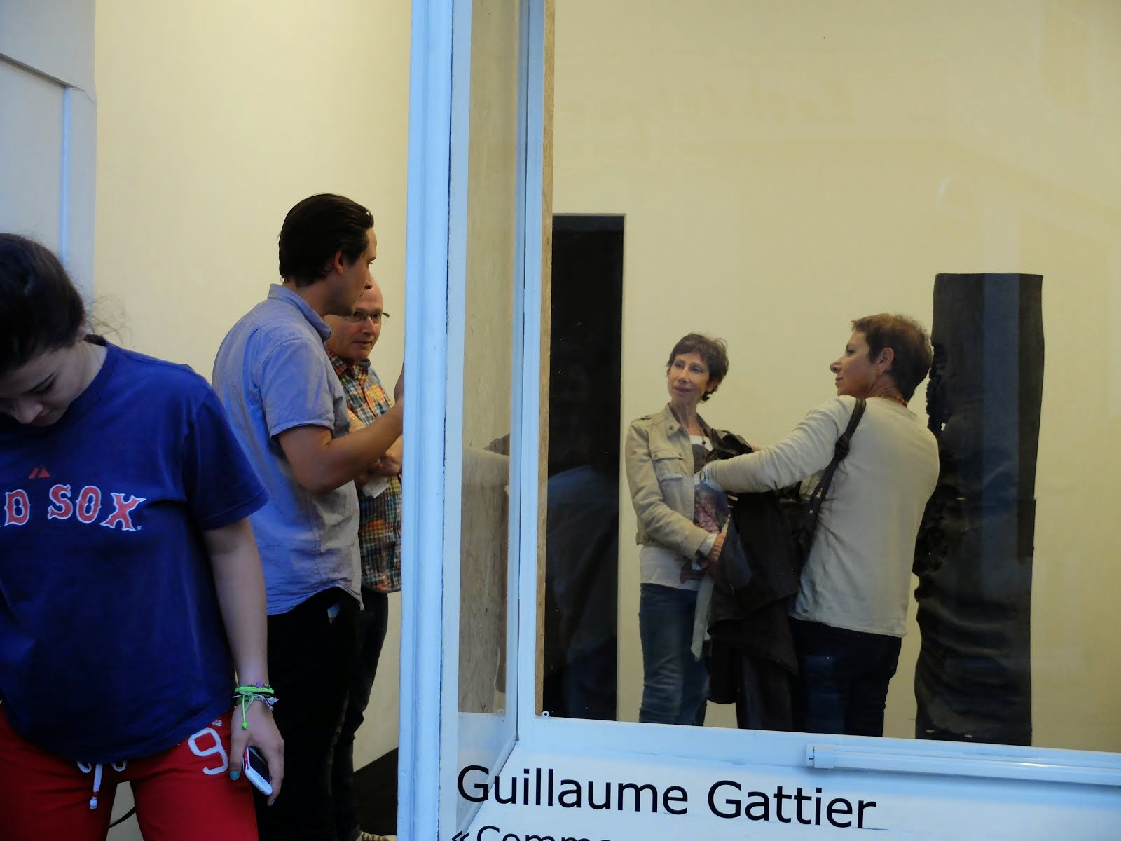 Guillaume Gattier vernissage