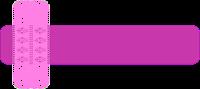 Faixa pink rendada para blog - Criação Blog PNG-Free