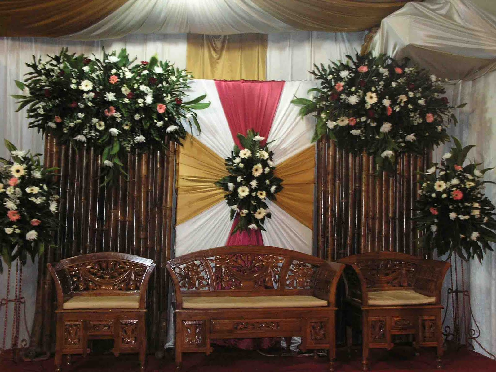 Dekorasi Pelaminan Sederhana 2015