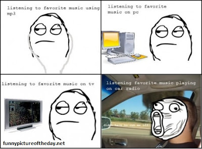 Favorite Music Funny Meme Comic