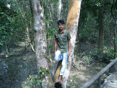 Aslam, sundarban, Bangladesh