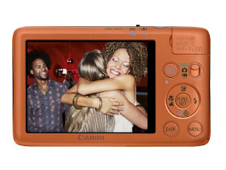 LCD IXUS 130 Canon kamera