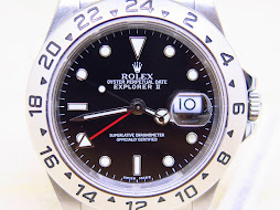 ROLEX EXPLORER II BLACK DIAL 40mm - ROLEX 16570 SERIE F YEAR 2006 - MINTS CONDITION - FULLSET