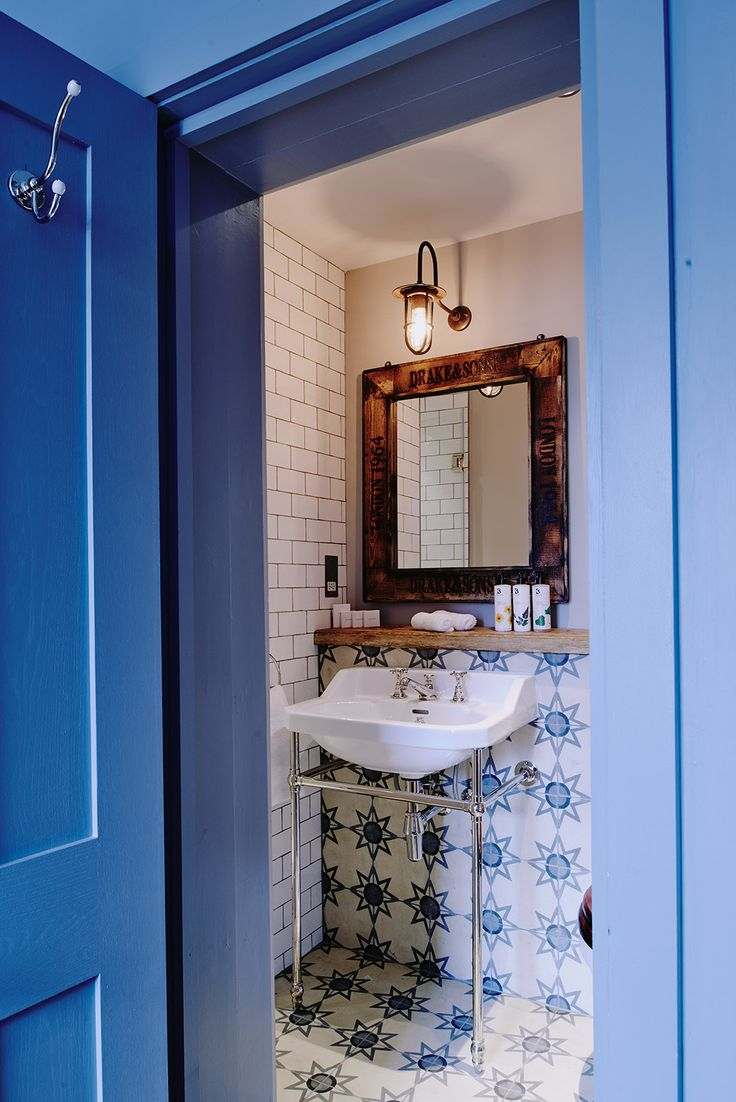 Bathroom Pattern Tiles | Norse White Design Blog