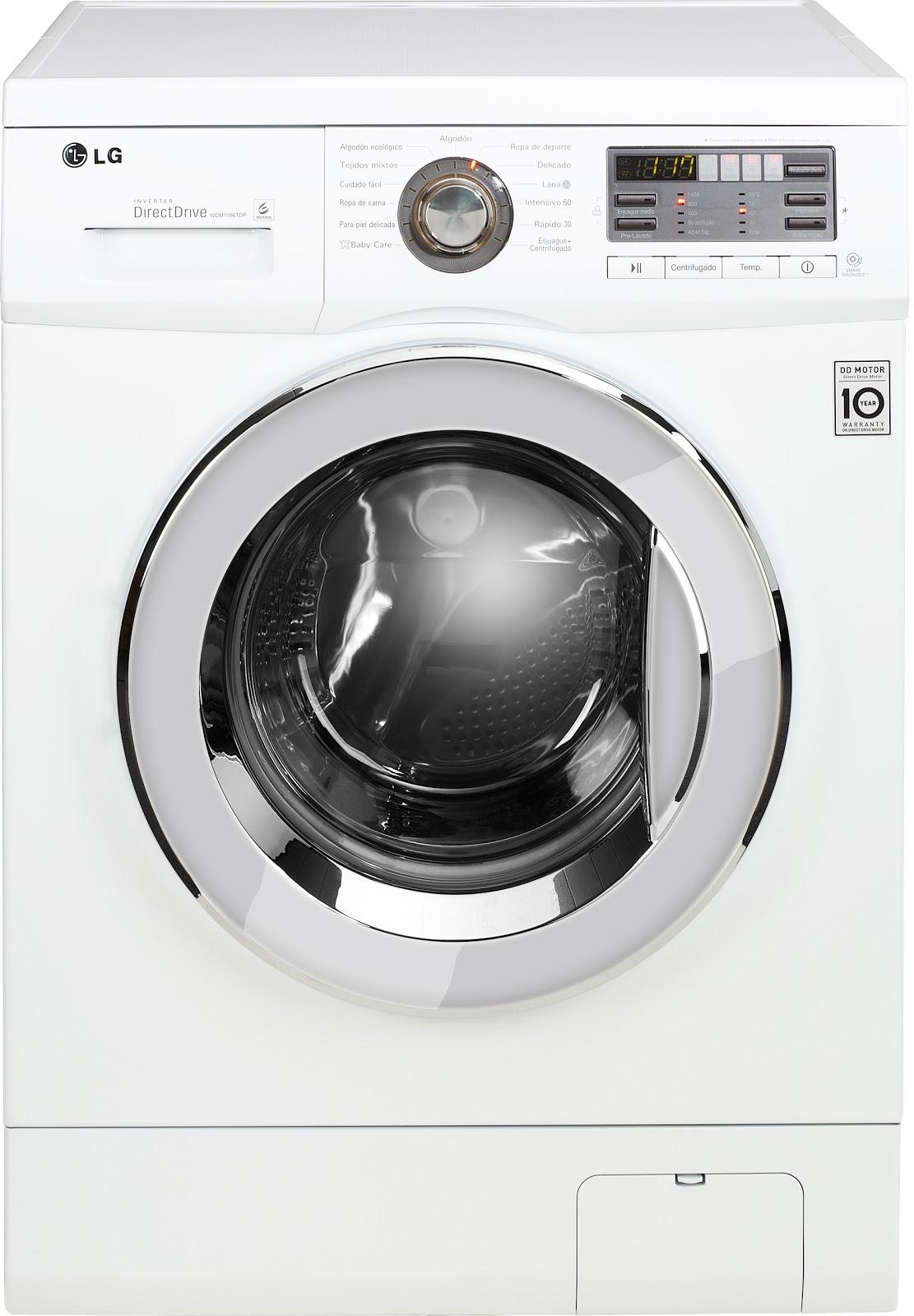 Lg estrena su nueva gama de lavadoras for Funcion de la lavadora