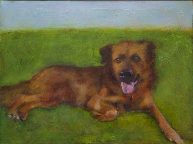 Dog portraits by Candace Compton Pappas. Dog pictures, dog paintings - Notes from the Pack. The story of dog.