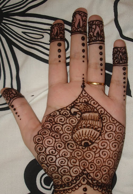 Mehndi Hairstyles Step By Step : My diary eid mehndi styles for girls step by guide