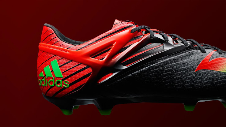 striking adidas messi 20152016 boots released footy