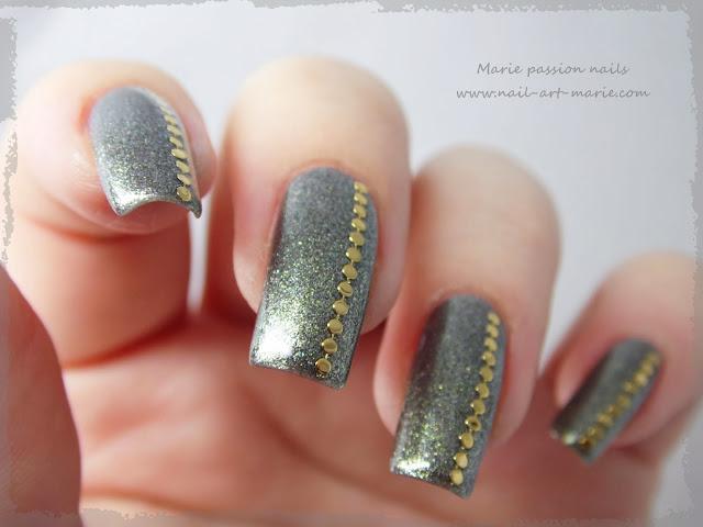 Nail art chic et discret3