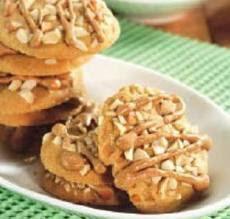 Kue Kacang Jahe Glasur Jahe
