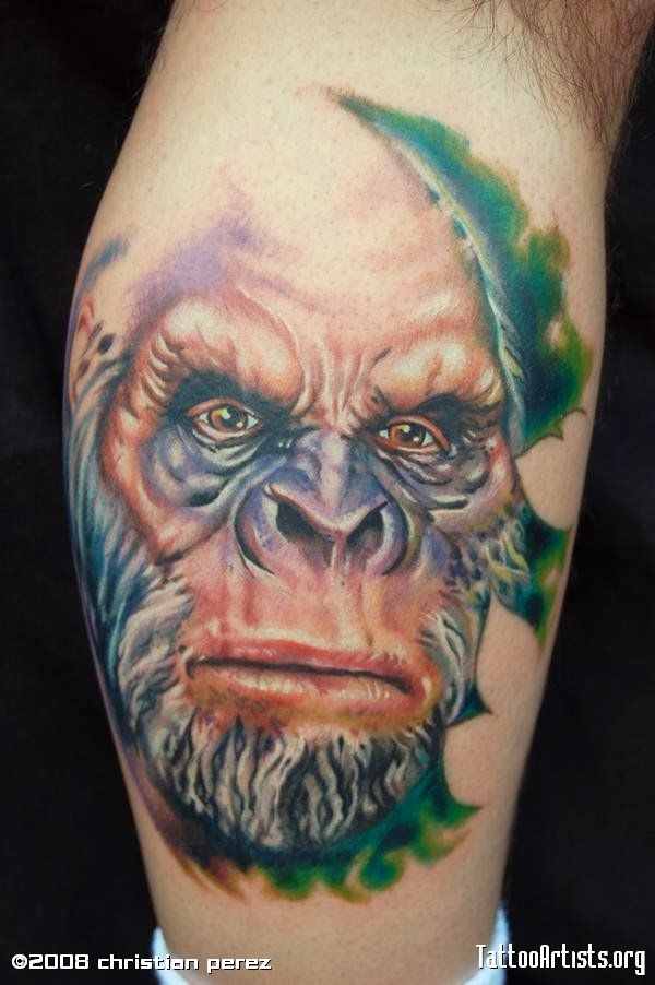 Bigfoot Tattoos | Bigfoot Research News | 600 x 902 jpeg 72kB