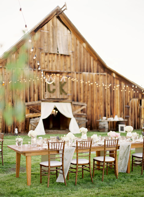 boda granero exterior