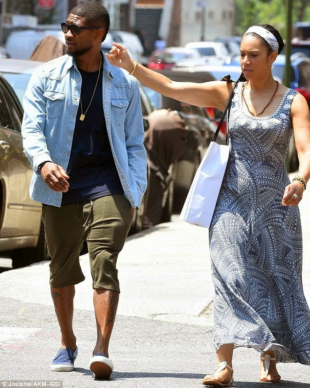 Usher's Girlfriend Grace Miguel