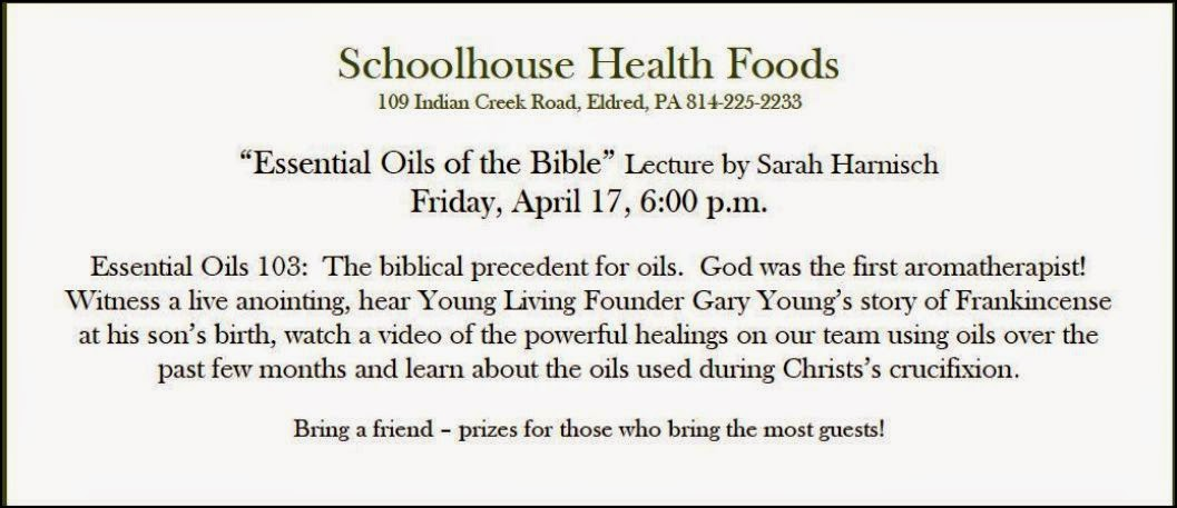 Schoolhouse Health Foods