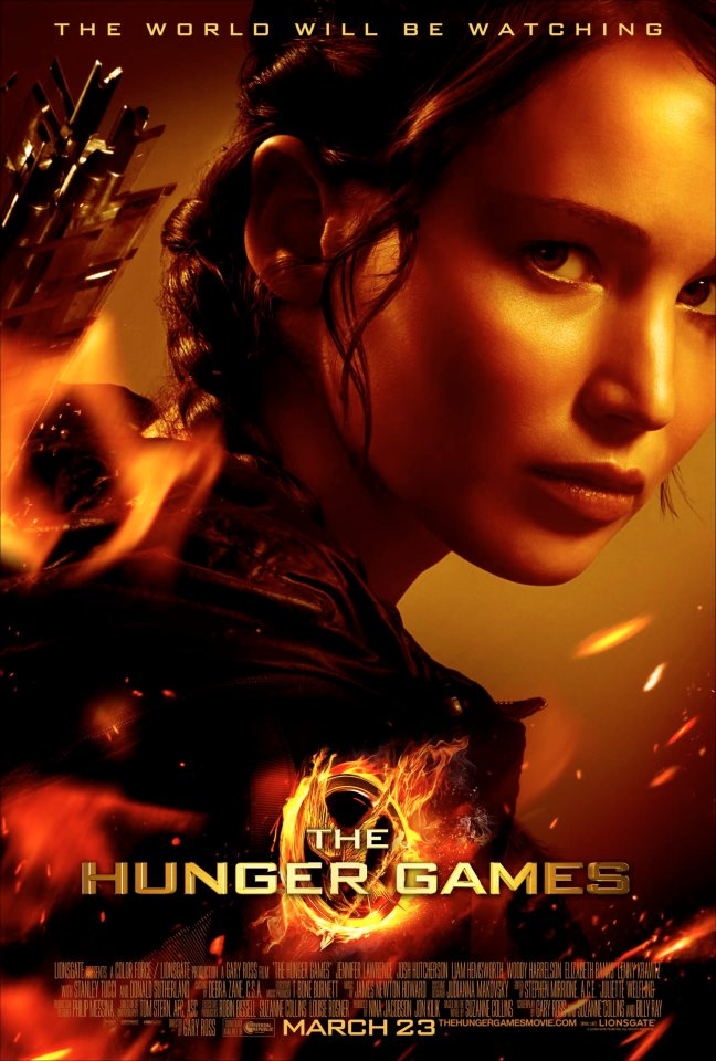 hunger games official movie posterscovers � see them here