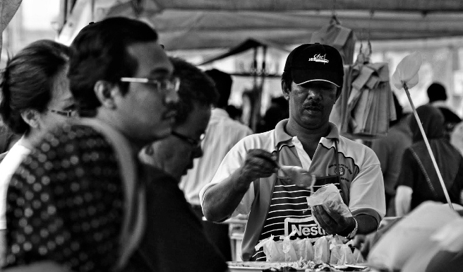 pasar malam bazar ramadhan seksyen 17 poster