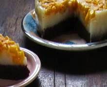 Resep Cara Membuat Cake Puding Coklat Mangga