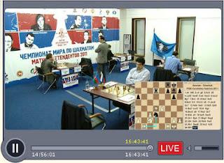 Lea retransmission vidéo de la fédération russe des échecs © Chess-News