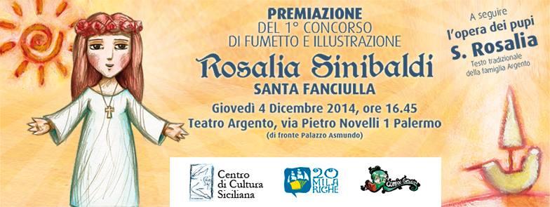 """Vincitore del concorso """"Rosalia Sinibaldi"""""""