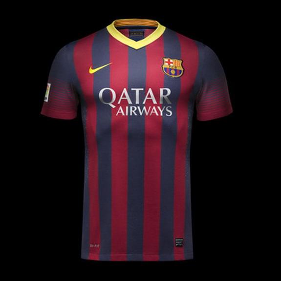 Barcelona release new home kit for 2013/14 season