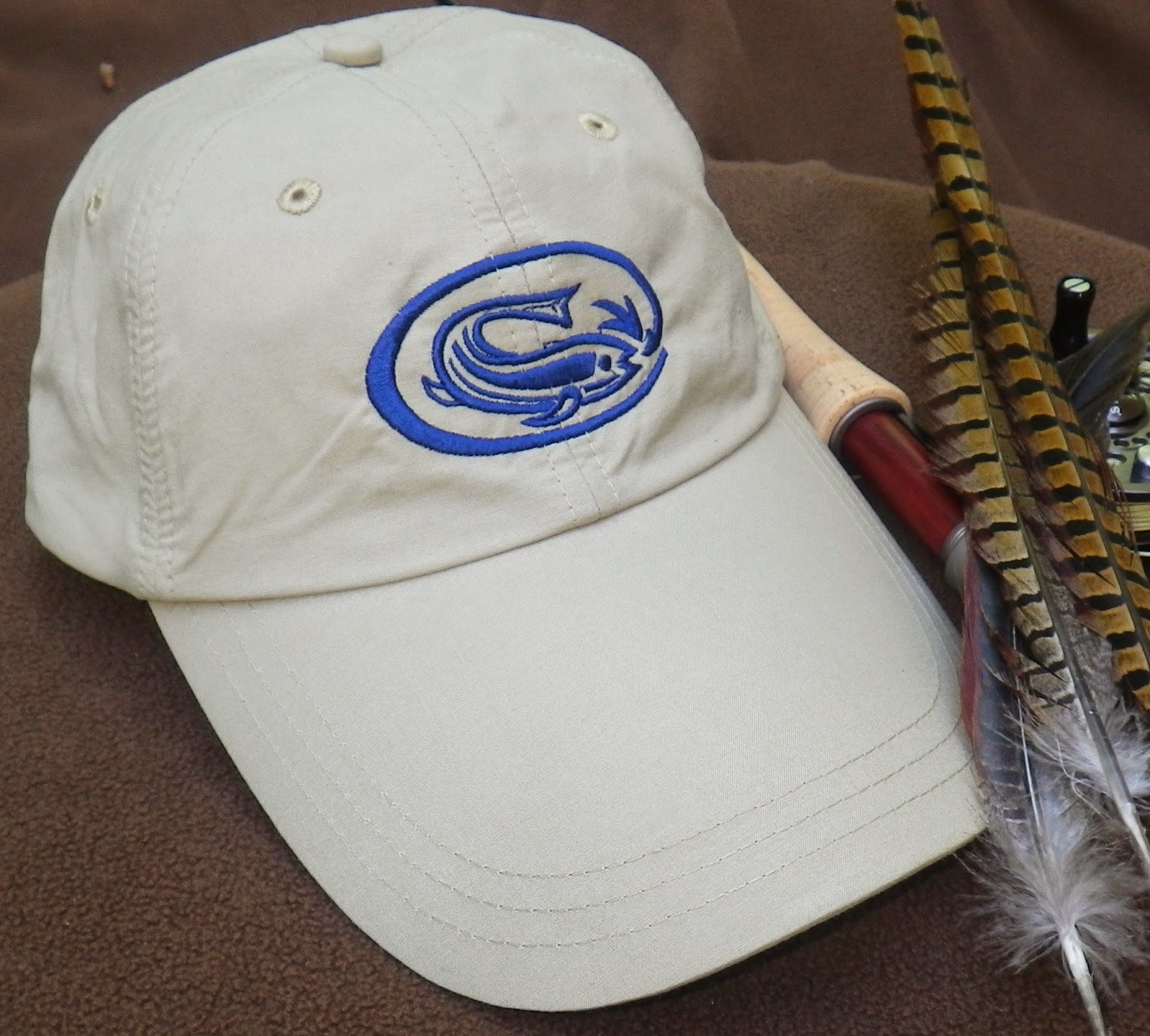 First cast fly fishing fishing hat 39 s for sale new fcff logo for Fishing hats for sale
