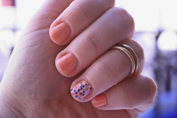 barry m peach melba, plus size fashion blog, fashion and beauty blog