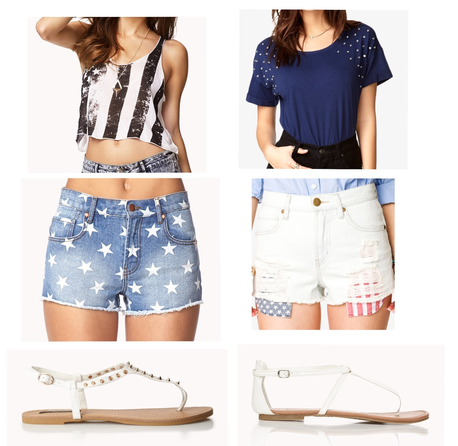 This Chic Girl  Fourth of July Outfit Ideas Forever 21 Summer Outfits Tumblr