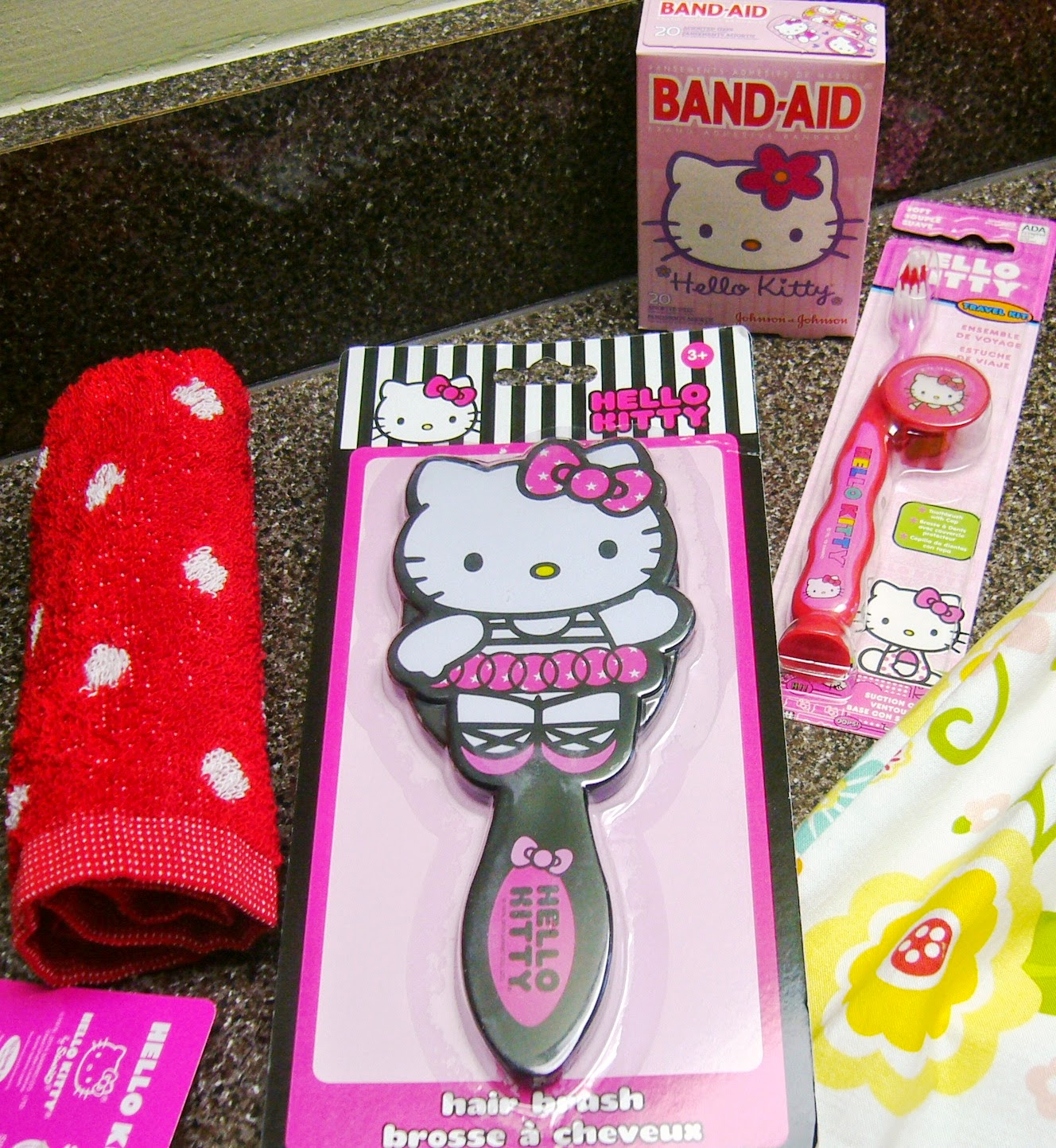 Hello Kitty Themed Operation Christmas Child Shoe Box Gift hygiene supplies
