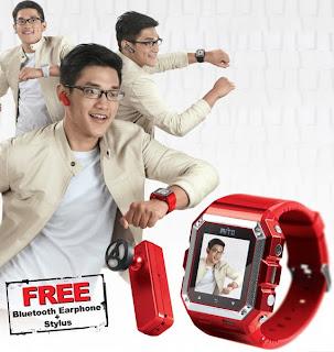 hp mito jam tangan s500, harga murah, model afgan