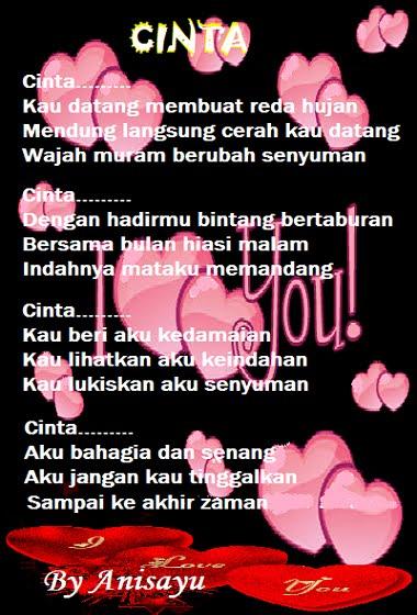 Puisi Cinta By Anisayu Kata2 Bijak Puisi Cinta