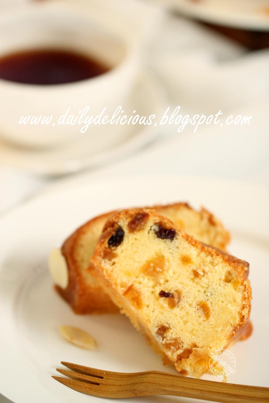 Macerated Fruit Cake