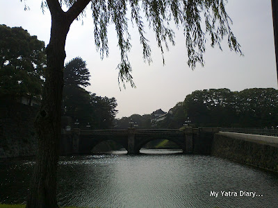 Imperial Palace and Gardens Stone Bridge, Tokyo
