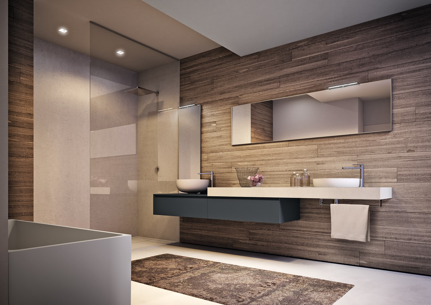 Progettando il bagno - Spostare lavabo bagno ...
