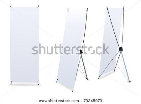 Ukuran X Banner Standart dan Harga X Banner