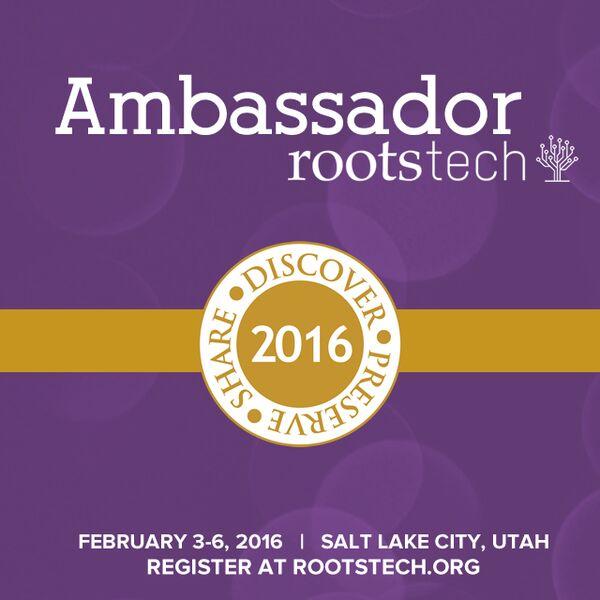 Rootstech Ambassador 2016