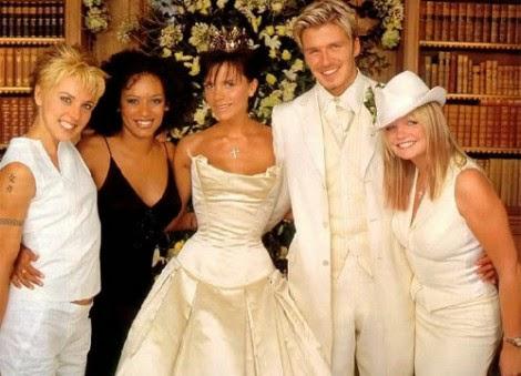 Victoria Beckham Wedding Dress