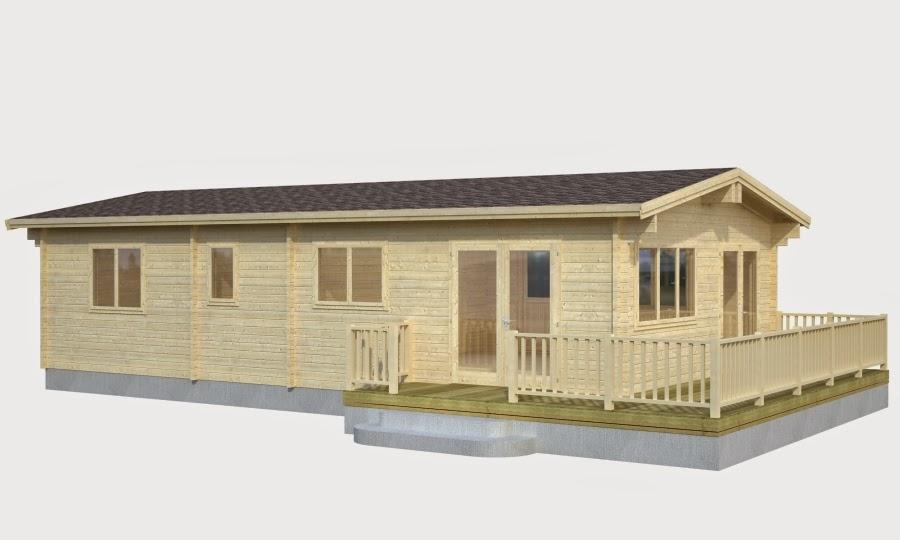 Casas de madera baratas for Casetas exterior baratas