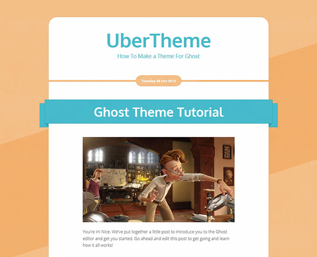 Adding Ghost Template Tags and Markup
