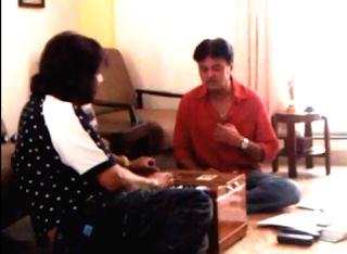 Ram Nagraj with Roop Kumar Rathode