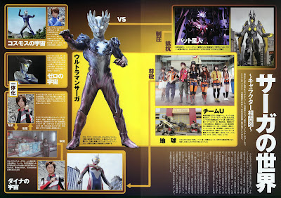 Ultraman Saga & the Other Universe