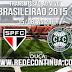 São Paulo x Goias - Brasileirão - 15/08 - 21h