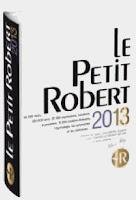 Petit Robert 2013