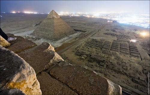 Vista do topo de 10 lugares incríveis