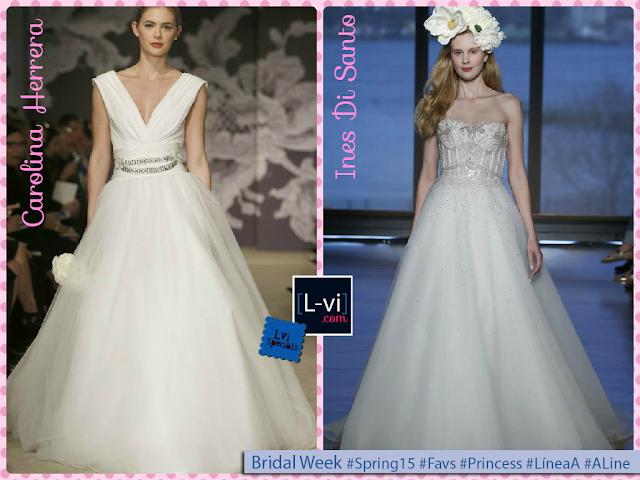 [SS15] Bridal dresses:Princess ALine cut / Vestidos de novia Línea A  L-vi.com