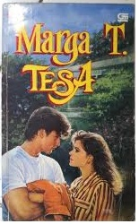 Novel Tesa by Marga T Bekas Murah