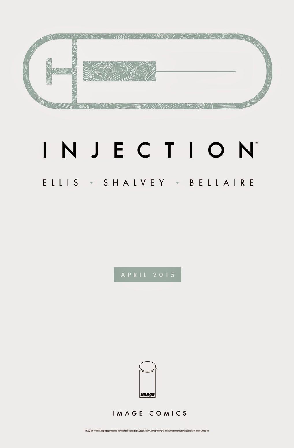 Injection - Warren Ellis - Declan Shalvey - Jordie Bellaire
