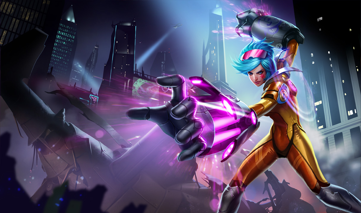 League of Legends: Vi Wallpapers | NERFPLZ.LOL