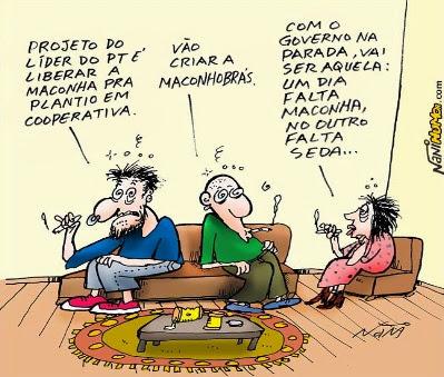 Enquanto isso no Brasil.. #maconha deve ser regulamentada em no máximo 10 anos!